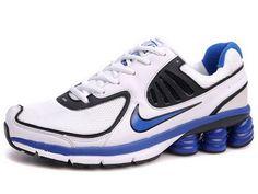 Homme Nike Shox Current Bleu/Noir