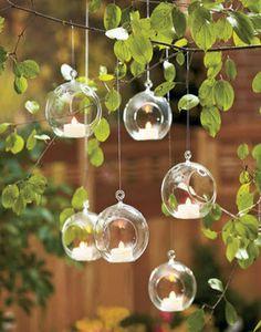 groothandel 24 stuks 8cm opknoping glas plantenbak terraria, glazen bol theelichthouders- bruiloft of huis ornament kandelaar