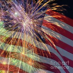 Celebrations July by Kaye Menner by Kaye Menner Federal Holiday, Fine Art Prints, Framed Prints, Art Sites, Show Photos, Abstract Photography, Art Market, Wonderful Images, Prints For Sale