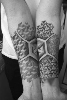 I really like the idea of Escher tattoos, but I rarely see excellent executions of the idea. I like this though.