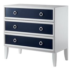 shaker style furniture navy dresser verona / land of nod