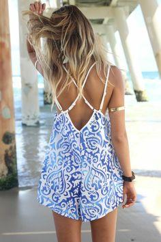 le combinaison femme pour aller à la plage pendant l'été 2015