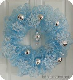 Fun Christmas Deco Mesh Wreath Ideas Deco Mesh