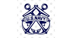 U.S. Navy, Crossed Anchors. Inspired and designed by request for my father, a proud United States Navy veteran! Army & Navy, Us Navy, Navy Ranks, Coast Gaurd, Navy Cross, Navy Logo, Navy Aircraft, Navy Veteran, United States Navy