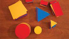 Blóques lógicos de Dienes-Hull: introducción sobre el material, objetivos, cómo usarlos en el aula, y un PDF de 116 páginas con actividades.