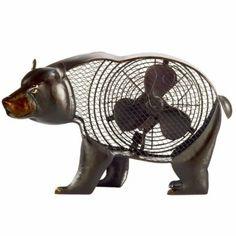 Figurine Fan, Black Bear