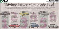 Inchcape Motors: BMW en especial automotriz del diario Publimetro de Perú (08/07/16)