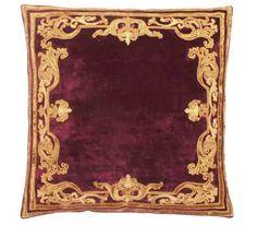 Florence Claret Velvet Cushion cover