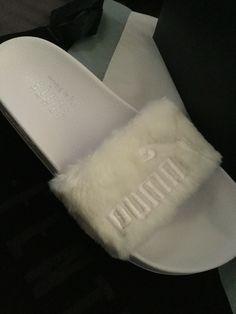 Fenty x Puma 'The Fur Slides' by Rihanna ❤️ In love