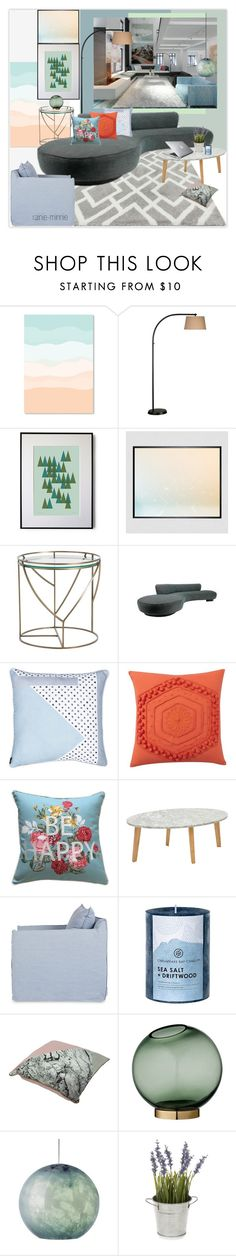 """""""Modern Eclectic"""" by rainie-minnie ❤ liked on Polyvore featuring interior, interiors, interior design, home, home decor, interior decorating, Arteriors, Wilkhahn, Pottery Barn and Ink & Ivy"""