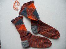 Anleitung Socken stricken an der Strickmaschine                                                                                                                                                                                 Mehr