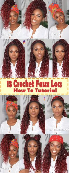 13 ways to nail it when styling your crochet goddess faux locs this holiday fauxlocs goddessbraids crochethairstyles naturalhair naturalhairstyles crochet braid styles faux locs crochet faux loc hairstyles crochet braids locks Faux Locs Hairstyles, Try On Hairstyles, Crochet Braids Hairstyles, African Braids Hairstyles, Crotchet Faux Locs, Crochet Goddess Faux Locs, Crochet Hair, Megan Good, Goddess Locs
