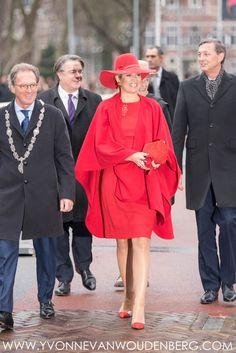 Koningin Máxima bij Uitblinkerslunch en opening Jheronimus Academy of Data Science