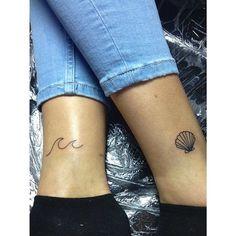 sea theme tattoo