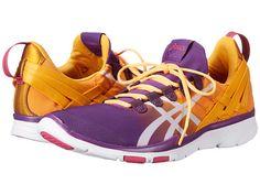 ASICS GEL-Fit Sana™ Purple Magic/White/Nectarine - Zappos.com Free Shipping BOTH Ways