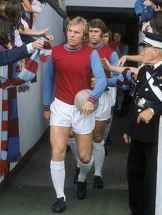 """Robert Frederick Chelsea """"Bobby"""" Moore OBE was an English professional footballer. He captained West Ham United for more than ten years and was captain of the England team that won the 1966 World Cup.⚒"""