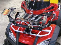 ATV Bow Rack