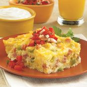 Hashbrown and Egg Breakfast Bake, Recipe from Cooking.com