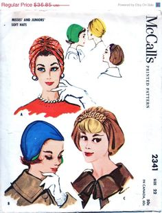 SALE UNCUT 50's Vintage McCall's Sewing Pattern 2341   by anne8865, $31.32