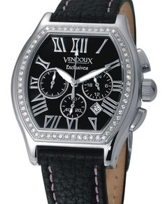 Vendoux €299,- for € 99,- This toneau shaped watch has a curved case and huges the wrist. www.megawatchoutlet.com