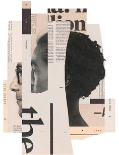 Collage Artworks by Mike McQuade – Inspiration Grid Graphic Design Posters, Graphic Design Illustration, Graphic Design Inspiration, Digital Illustration, Collage Illustration, Photomontage, Design Editorial, Abstract Paper, Collage Artwork