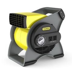 Utility Fan Pivoting Air Blower Multi Purpose Portable 3 High Speed Garage