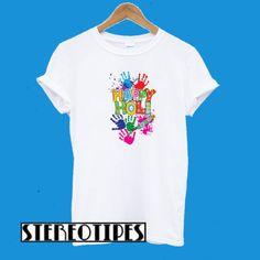 Festival T Shirts, Happy Holi, Direct To Garment Printer, Cool Shirts, Shirt Style, Mens Tops, Prints, Fashion, Moda