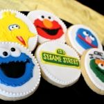 Sesame Street Cookie Collection - Elmo, Cookie Monster, Big Bird, Grover, & Oscar the Grouch