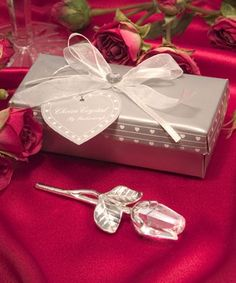 Beauty and the Beast wedding favor.