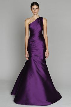 Monique Lhullier 2011 Pre-Fall- would be a pretty reception dress or a STUNNING gown for a Maid of Honor