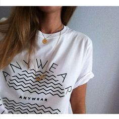 The ANYWEAR t-shirt is now on sale in a limited number. Go to shop here > http://anywear.dk/users/anywear-shop