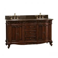 Love the idea of a vanity that looks like another piece of furniture