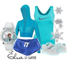 """Elsa"" by disneybychantelle on Polyvore"