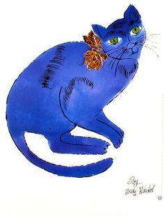 kočka, Andy Warhol