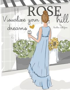 Wall Art for Women  Visualize Your by RoseHillDesignStudio on Etsy
