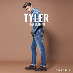 🆕 Tyler - Tapered Fit 🆕  #tiffosi #tiffosidenim #newin #fit #fitguide #denim #denimguide #denimcollection #jeans