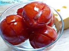 Эти помидоры просто наркотик какой-то! Если вам негде хранить бочку с солениями, или просто хочется солёных помидорок поскорее, то приготовьте их таким про