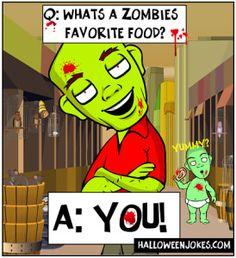 Yummy Zombie Joke