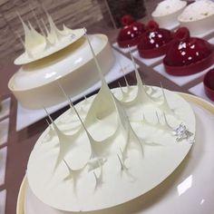 Fancy Desserts, Köstliche Desserts, Fancy Cakes, Plated Desserts, Delicious Desserts, Dessert Recipes, Chocolate Showpiece, Chocolate Garnishes, Chocolate Art