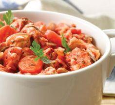 Low-fat simple chicken casserole #healthyfood #recipe