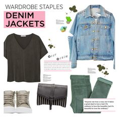 """Deniim Jackets"" by chakragoddess ❤ liked on Polyvore featuring Vans, Finest Imaginary, Laurence Doligé, MANGO and Isabel Marant"