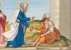 Ottheinrich-Bibel, Bd. 6: Kol 3,22 - Apg 10,4 Regensburger Raum, 15./16. Jh. Cgm 8010(6)  Folio 65