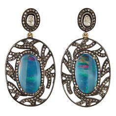 Australian Opal Earring   J/Hadley