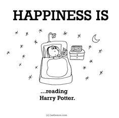 http://lastlemon.com/happiness/ha0076/ HAPPINESS IS...reading Harry Potter.