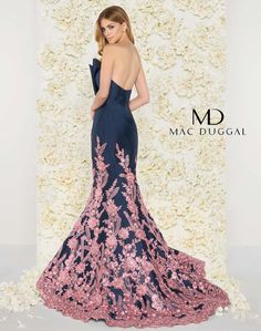 Mac Duggal Mid night Rose Color Available Size 14 Ready To Ship Authentic We Are Authorize Retailer Strapless Dress Formal, Formal Dresses, Formal Wear, Wedding Attire, Wedding Dresses, Dress Attire, Party Dresses For Women, Pageant Dresses, Special Occasion Dresses