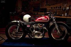Yamaha XS650 Dimitri Coste