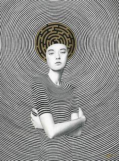 A-maze-ing Girls. Ilustraciones de Sofia Bonati