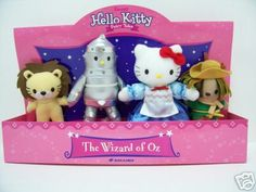 My two favorite things in this world - Hello Kitty & the Wizard of Oz :)