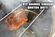 Boston butt cook on the Pit Barrel Cooker! This 6 lb butt cooked in just 5 hours on the Pit Barrel and was UNREAL tender and juicy! Buy one of these cookers ...