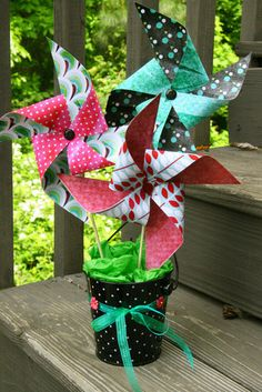 Hybrid Pinwheels by Smiley-Scrap8